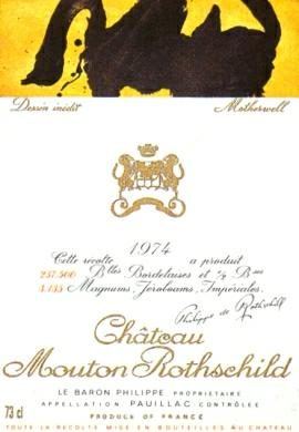 Chateau Mouton Rothschild in Original Tissue *Pristine* WS&RP:91 Points