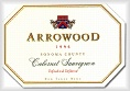 Arrowood Vineyards and Winery Cabernet Sauvignon Sonoma County