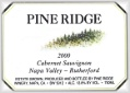 Pine Ridge Winery Cabernet Sauvignon Rutherford, Napa Valley