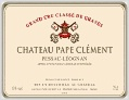 Ch Pape Clement Pessac Leognan Rouge France