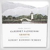 Robert Mondavi Cabernet Sauvignon Reserve/1 Bottle Left Shoulder Fill