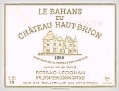 Bahans-Haut-Brion