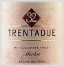 Trentadue Alexander Valley Estate Merlot