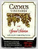 Caymus Vineyards Special Select Cabernet Sauvignon Napa